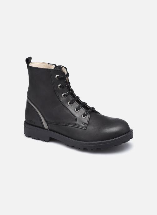 Boots en enkellaarsjes Kickers Grooke Zwart detail