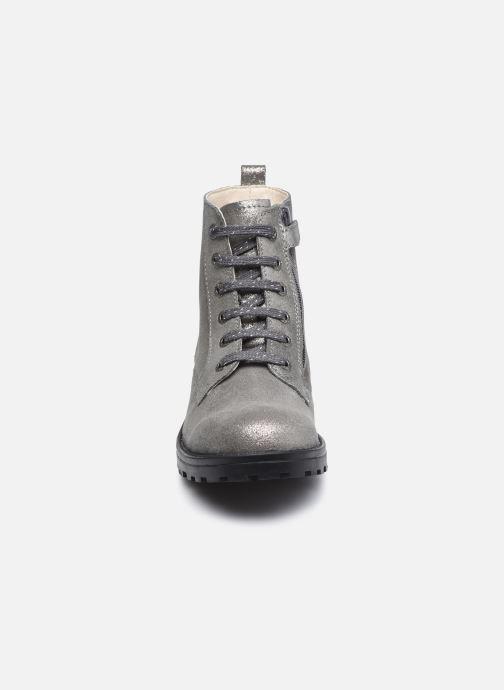 Stiefeletten & Boots Kickers Grooke silber schuhe getragen