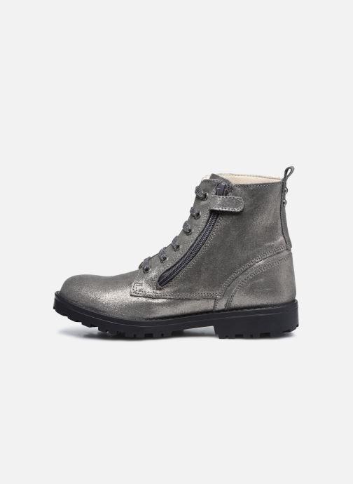 Stiefeletten & Boots Kickers Grooke silber ansicht von vorne
