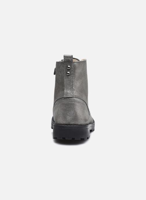 Stiefeletten & Boots Kickers Grooke silber ansicht von rechts