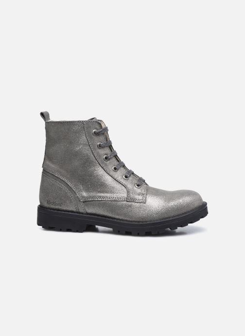 Stiefeletten & Boots Kickers Grooke silber ansicht von hinten