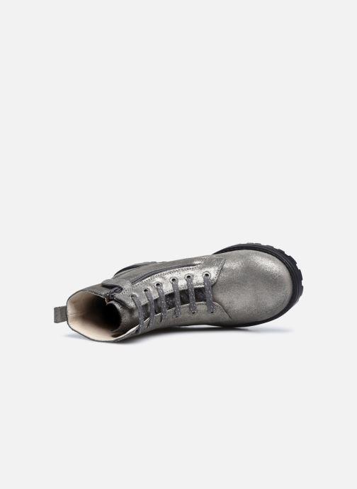Stiefeletten & Boots Kickers Grooke silber ansicht von links