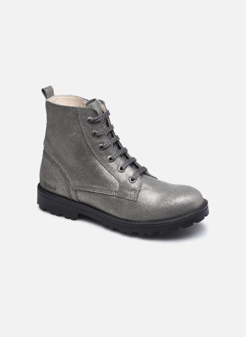 Bottines et boots Kickers Grooke Argent vue détail/paire
