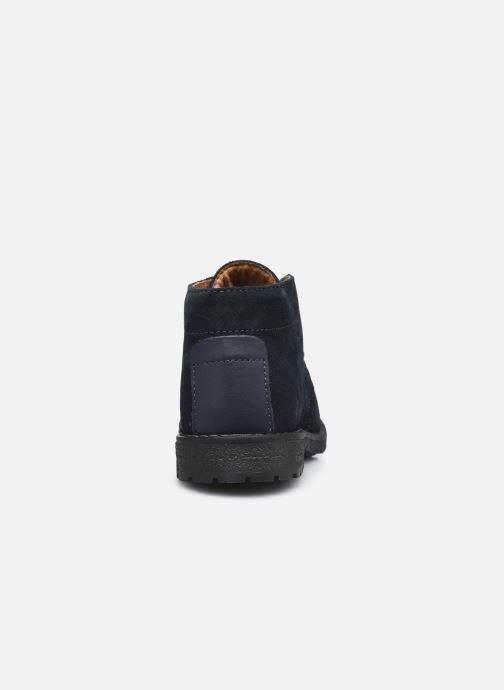 Bottines et boots Primigi PDM 64156 Bleu vue droite