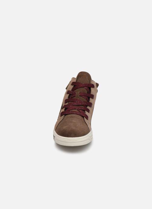 Sneaker Primigi PUA GTX 63779 braun schuhe getragen