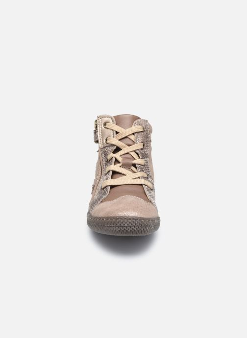 Sneaker Primigi PTF 64322 braun schuhe getragen