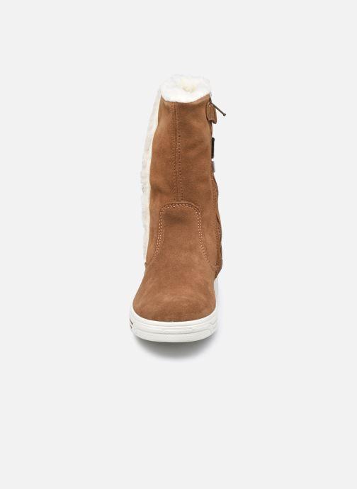 Bottes Primigi PUA GTX 63781 Marron vue portées chaussures