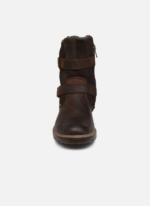 Stiefel Primigi PHR GTX 63657 braun schuhe getragen