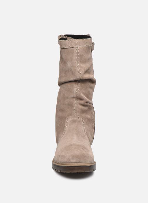 Stiefel Primigi PHR GTX 63656 braun schuhe getragen