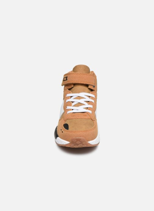 Sneaker Primigi PME 64534 braun schuhe getragen