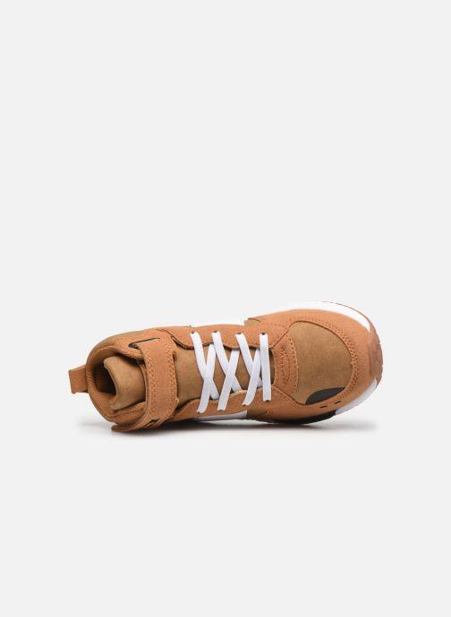 Sneaker Primigi PME 64534 braun ansicht von links