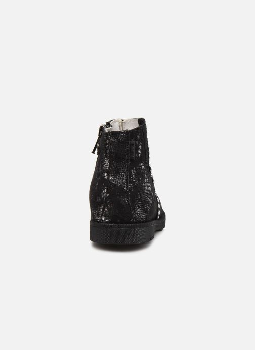 Bottines et boots Primigi PLO 64160 Noir vue droite