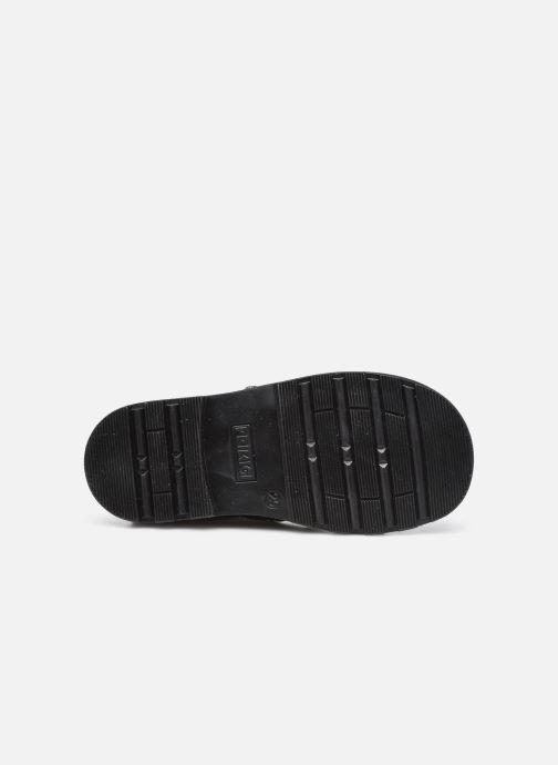 Bottines et boots Primigi PLO 64160 Noir vue haut