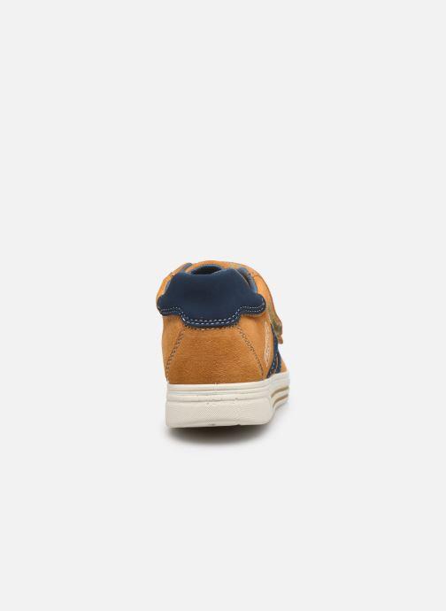 Sneaker Primigi PUA 63785 gelb ansicht von rechts