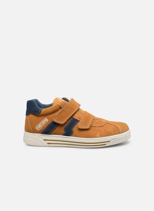 Sneaker Primigi PUA 63785 gelb ansicht von hinten