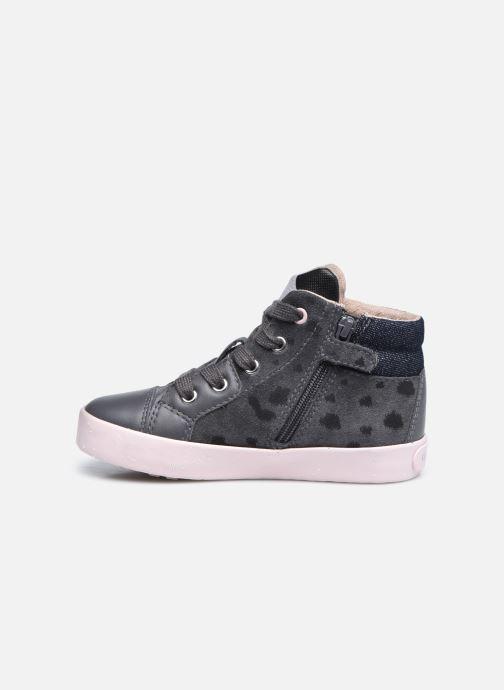 Sneaker Geox B Kilwi Girl B04D5C x WWF grau ansicht von vorne