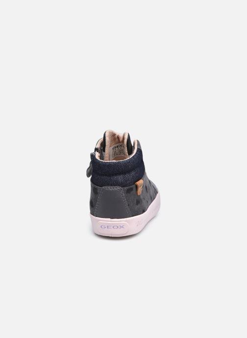 Sneaker Geox B Kilwi Girl B04D5C x WWF grau ansicht von rechts