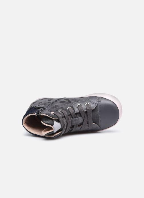 Sneaker Geox B Kilwi Girl B04D5C x WWF grau ansicht von links