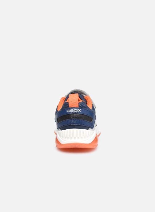 Sneaker Geox J Spaziale Boy J04CQA blau ansicht von rechts