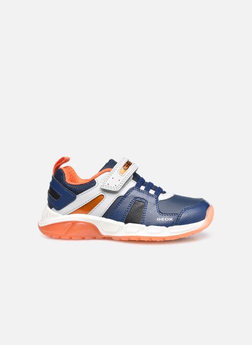 Sneaker Geox J Spaziale Boy J04CQA blau ansicht von hinten