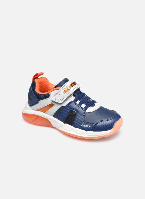 Sneaker Geox J Spaziale Boy J04CQA blau detaillierte ansicht/modell