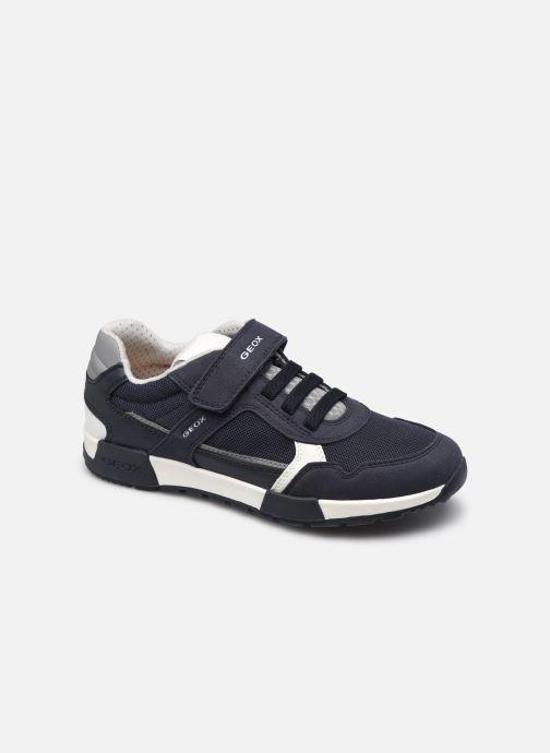 Sneakers Geox J Alfier Boy J046NA Blauw detail
