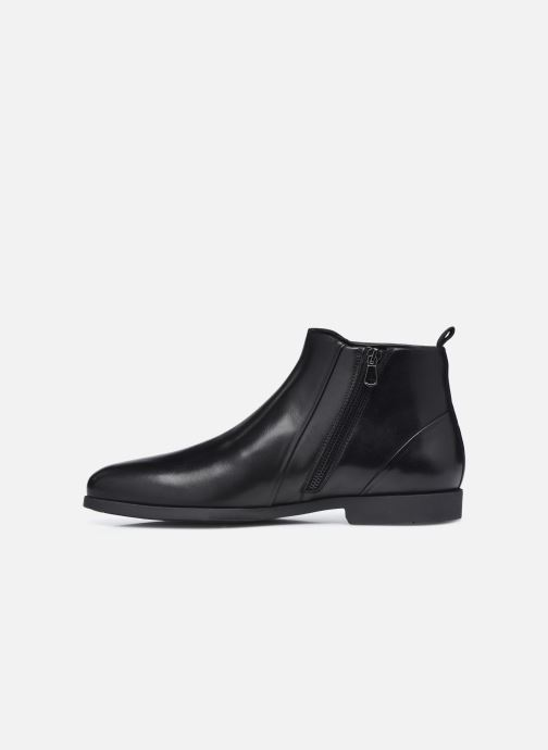 Stiefeletten & Boots Geox U KASPAR U048HB0 schwarz ansicht von vorne