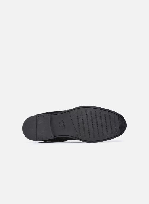 Stiefeletten & Boots Geox U KASPAR U048HB0 schwarz ansicht von oben