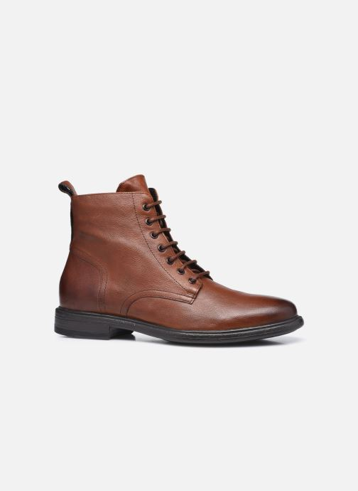 Bottines et boots Geox U TERENCE U047HD Marron vue derrière