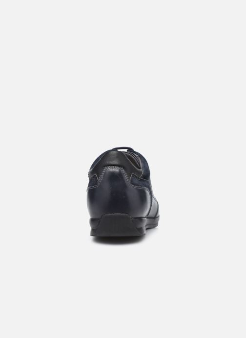 Sneaker Geox U ADRIEN U047VA blau ansicht von rechts