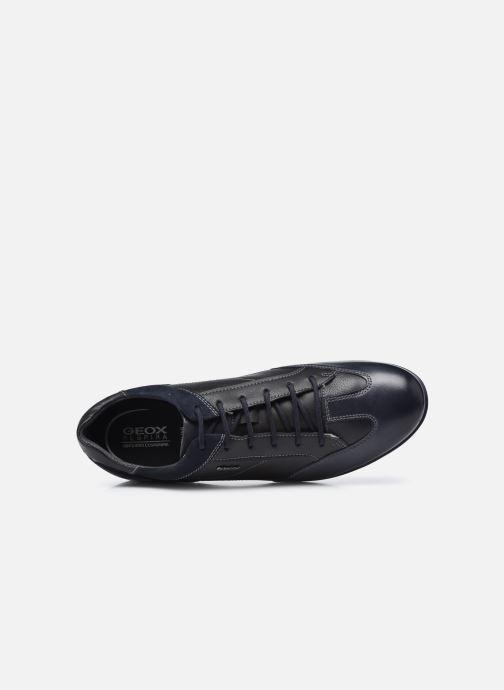 Sneaker Geox U ADRIEN U047VA blau ansicht von links