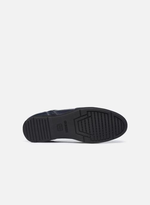 Sneaker Geox U ADRIEN U047VA blau ansicht von oben