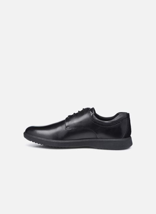 Zapatos con cordones Geox U DANIELE Negro vista de frente