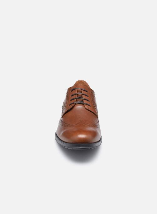 Zapatos con cordones Geox U HILSTONE WIDE Marrón vista del modelo