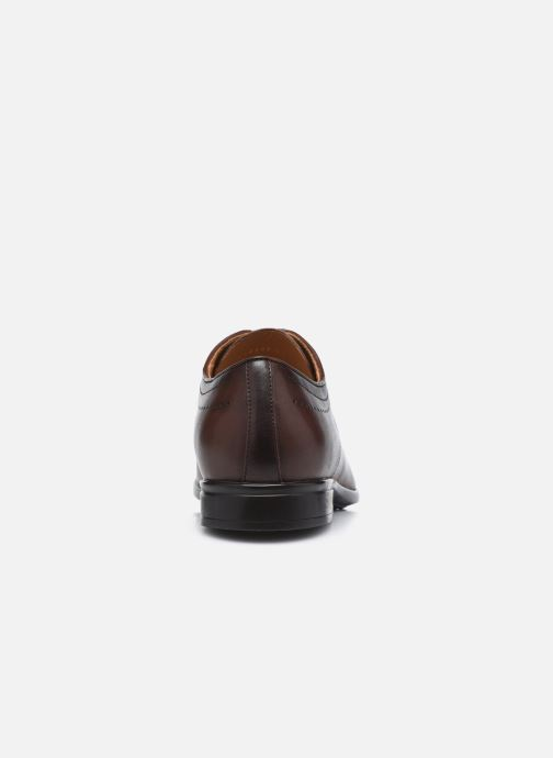 Chaussures à lacets Geox U IACOPO U049GC Marron vue droite