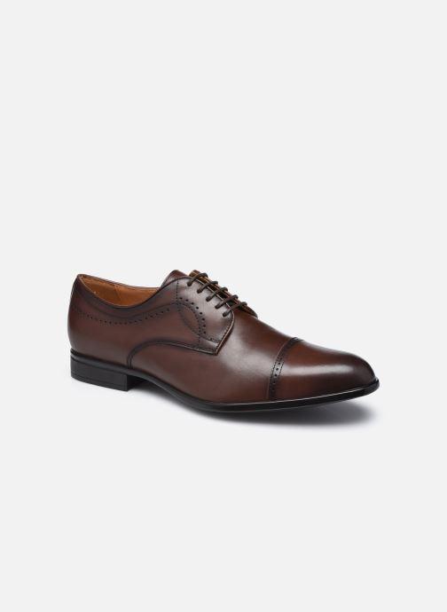 Chaussures à lacets Geox U IACOPO U049GC Marron vue détail/paire