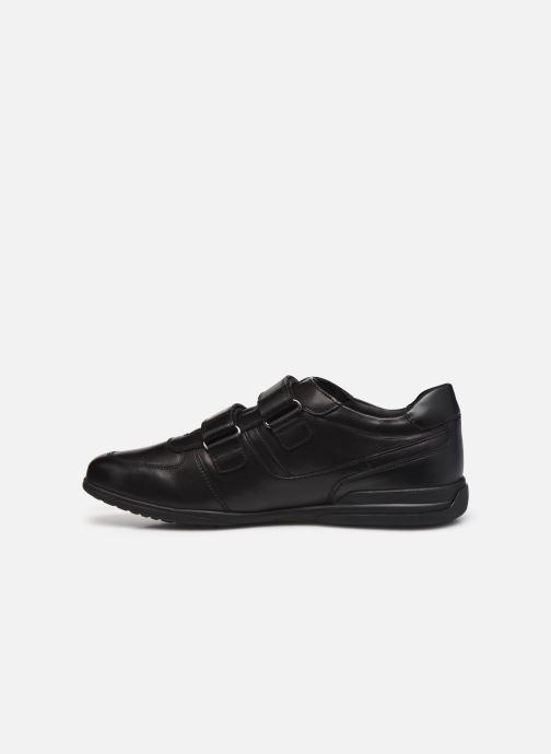 Sneaker Geox U TIMOTHY U046TB schwarz ansicht von vorne