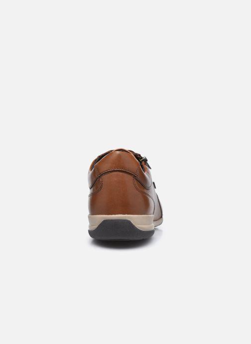 Sneaker Geox U TIMOTHY U046TC ZIP braun ansicht von rechts