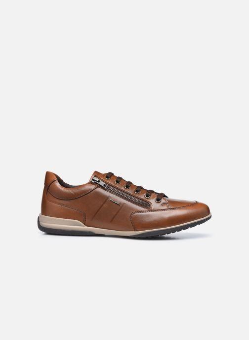 Sneaker Geox U TIMOTHY U046TC ZIP braun ansicht von hinten