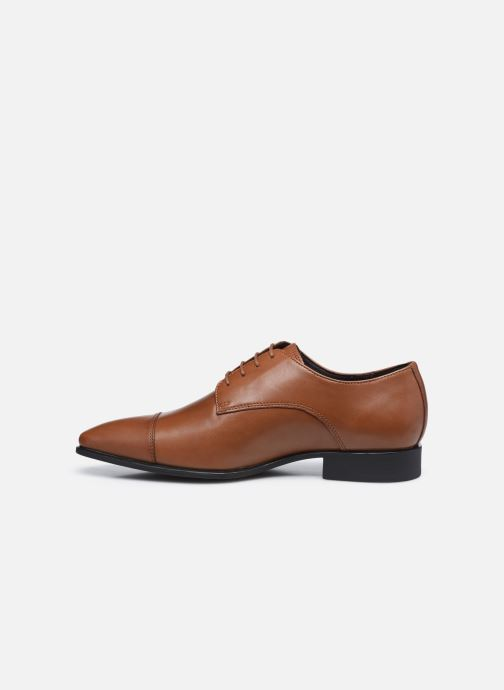 Chaussures à lacets Geox UOMO HIGH LIFE Marron vue face