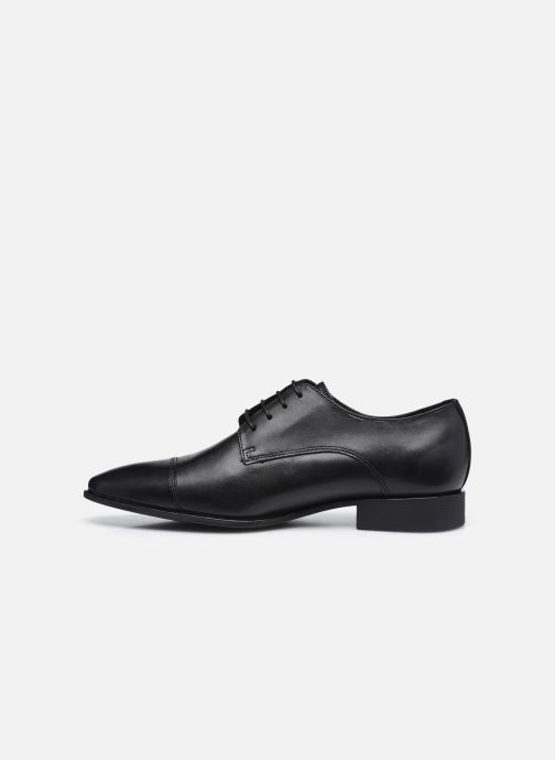 Chaussures à lacets Geox UOMO HIGH LIFE Noir vue face