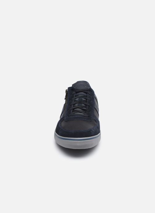 Sneaker Geox U ELVER blau schuhe getragen