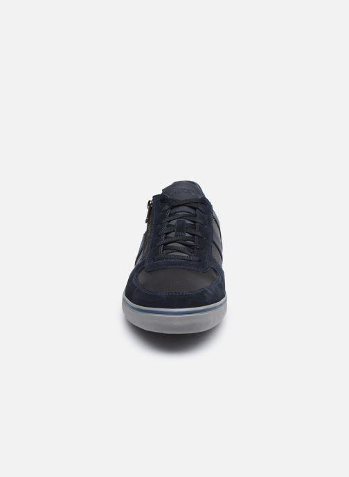 Baskets Geox U ELVER Bleu vue portées chaussures