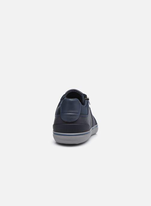 Sneaker Geox U ELVER blau ansicht von rechts