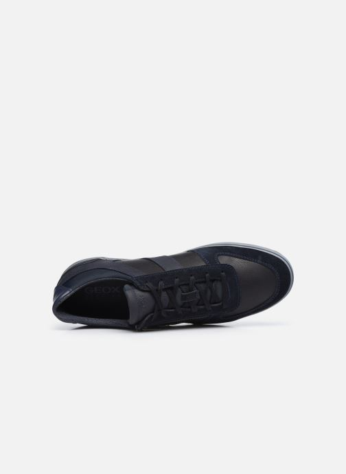 Sneaker Geox U ELVER blau ansicht von links
