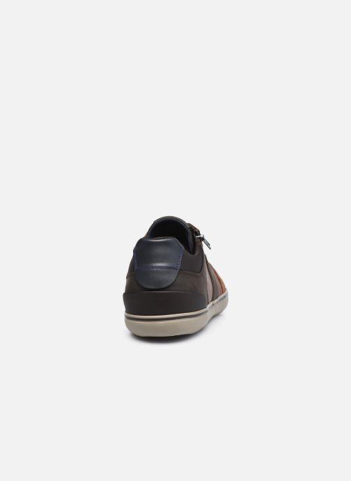 Sneakers Geox U ELVER Brun Se fra højre