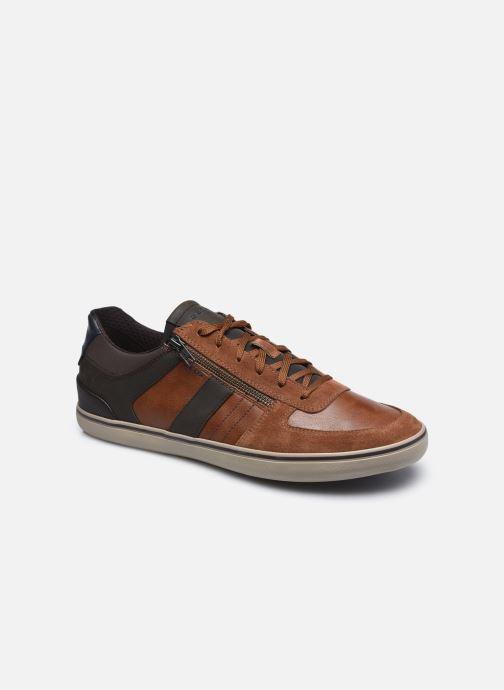 Sneakers Geox U ELVER Brun detaljeret billede af skoene