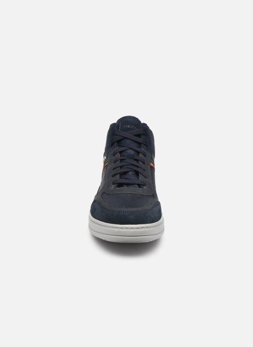 Sneakers Geox U LEVICO B ABX Azzurro modello indossato