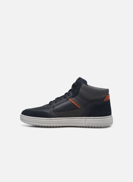 Sneakers Geox U LEVICO B ABX Azzurro immagine frontale