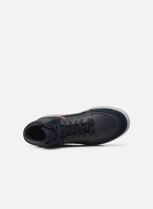 Sneakers Geox U LEVICO B ABX Azzurro immagine sinistra